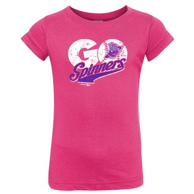 Lowell Spinners I/T Pink Go Spinners Tee