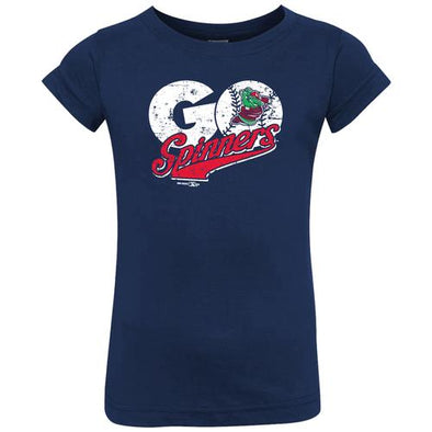 Lowell Spinners I/T Navy Go Spinners Tee
