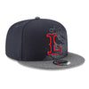Lowell Spinners New Era Logo Peek 9Fifty Cap