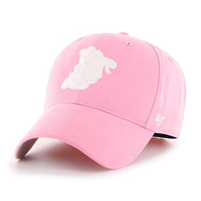 Lowell Spinners '47 Youth Pink Rose Cap