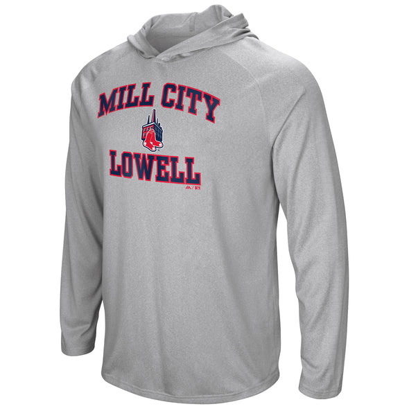 Majestic Grey Mill Sox Performance Hoodie