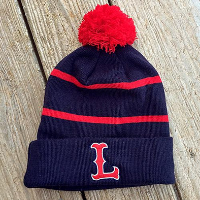 Lowell Spinners Navy Road Beanie