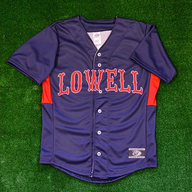 Lowell Spinners 2017 Navy Replica Jersey