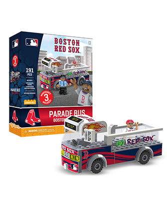 Lowell Spinners Oyo Boston Red Sox Parade Bus