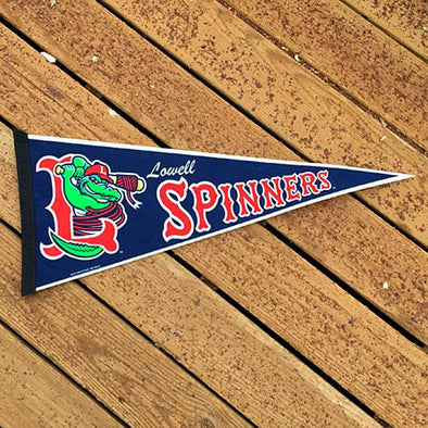 Lowell Spinners Gator Pennant