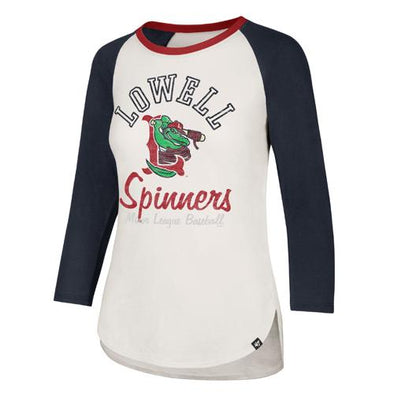 Lowell Spinners '47 Women's Splitter Raglan Tee