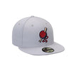 Lowell Spinners New Era All Grey Away 59Fifty Cap