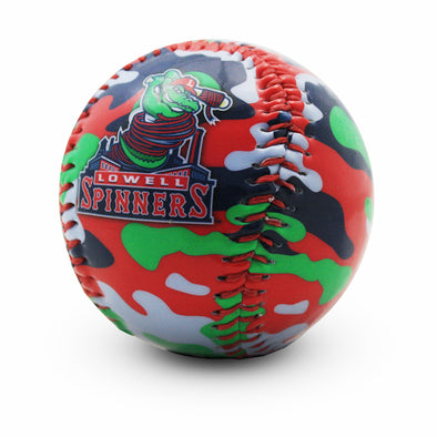 Lowell Spinners Camo Baseball