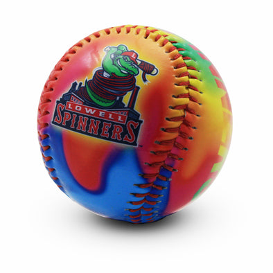 Lowell Spinners Tie Dye Baseball