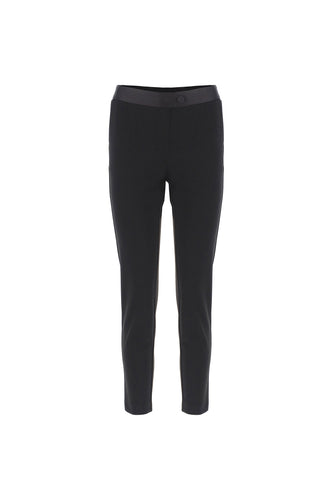PANTALONE SLIM CON FASCIA SMOKING IN VITA IMPERIAL