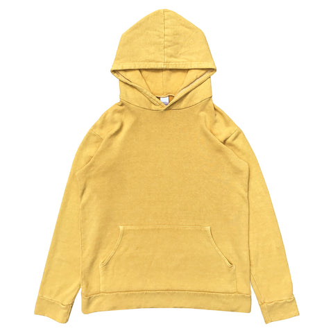 HEMP HOODIE - SUNSET YELLOW - VINTAGE WASH (FREE U.S.A. SHIPPING)