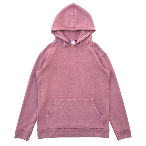 HEMP HOODIE - EARTH PINK - VINTAGE WASH (FREE U.S.A. SHIPPING)