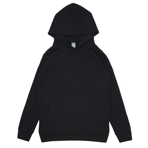 HEMP FLEECE HOODIE - BLACK (FREE U.S.A. SHIPPING)