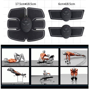 Essential Weight Loss And Muscle Toning And 6 Abs Ems Tummy Flatter Kit For Men And Women