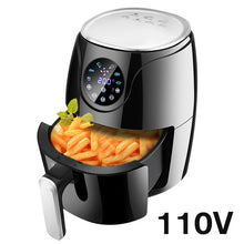 Load image into Gallery viewer, 2.6L Multifunction Air Fryer Chicken Oil free Air Fryer Health Fryer Cooker Oven Low Fat Smart Touch LCD Electric Deep Airfryer