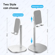 Load image into Gallery viewer, Desktop Holder Tablet Stand For iPad Pro 11 10.5 10.2 9.7 mini For Samsung Xiaomi Tablet Stand Support Remote Network Teaching