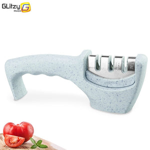 Knife Sharpener 3 Stages Professional Kitchen Sharpening Stone