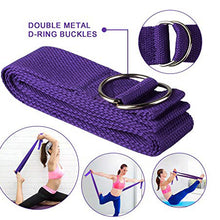 Load image into Gallery viewer, EVA Yoga Block Set Exercise Workout Fitness Brick Bolster Stretch Belt Aid Gym Pilates Training Body Shaping Fitness Equipment