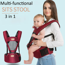 Load image into Gallery viewer, Hot Newborn Infant Baby Carrier Solid Breathable Ergonomic Adjustable Wrap Sling chest kangaroo Backpack 0-4 Years