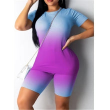 Load image into Gallery viewer, Women Summer 2 Piece Set Sport Casual Suit 2020