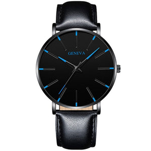 Men's Fashion Ultra Thin Quartz Watch Relogio Masculino