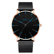 Load image into Gallery viewer, Men's Fashion Ultra Thin Quartz Watch Relogio Masculino