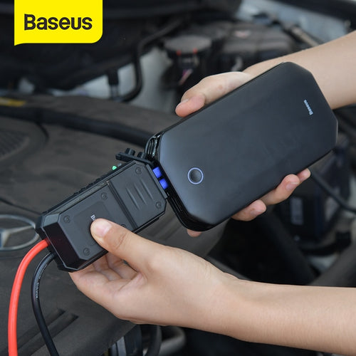 Car Jump Starter Battery Power Bank Portable 12V 800A Vehicle Emergency Battery Booster Car Power Starter