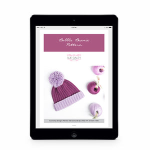 Bobble Beanie Pattern PDF Download