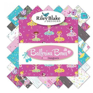 "Ballerina Bows 10"" Stacker"