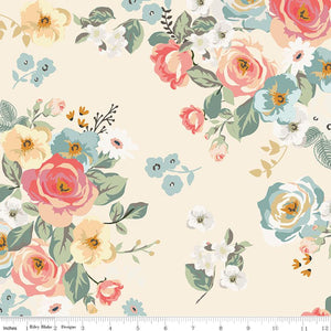 Gingham Garden Main Cream