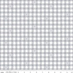 Honey Run Gingham Gray