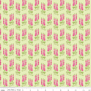 Sweet Melody Tall Flowers Light Green