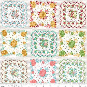 Granny Chic Handkerchief Multi 1yd pc