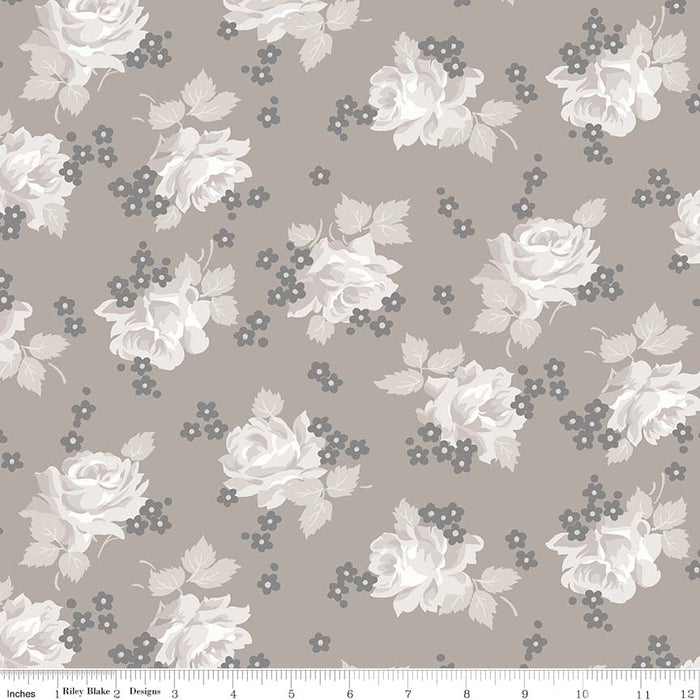 Serenity Roses Taupe