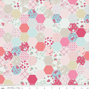 Moments Hexagons Pink