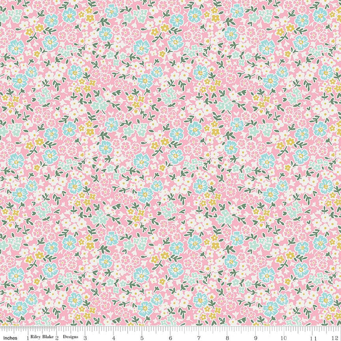 Milk & Honey Flower Patch Pink