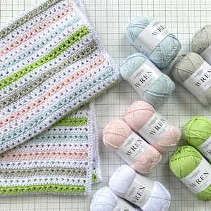 Chloe Crochet Blanket Kit