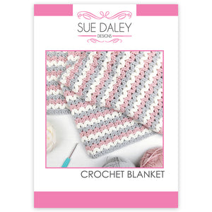 Crochet Blanket Printed Pattern