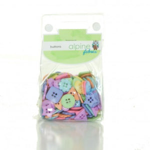 Novelty Button Pack - Geo Happy