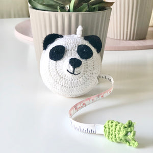 Panda Crochet Tape Measures