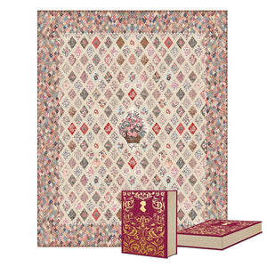 Jane Austen at Home Coverlet Quilt Kit - DEPOSIT, COMING SEPT