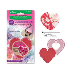 Clover Yoyo Maker - Large Heart Shape