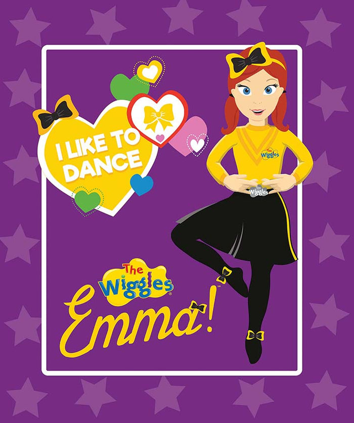 Ready, Steady, Wiggle! Emma Panel Purple