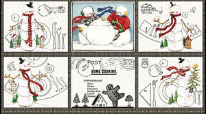 Snow Sweet Large Placemat Panel