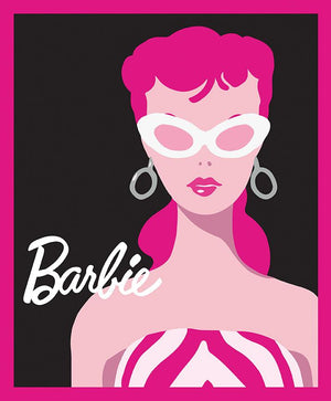 Barbie Black Panel