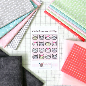 Patchwork Kitty Quilt Kit