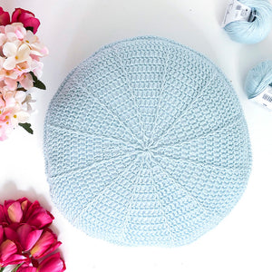 Crochet Spokes Cushion Printed Pattern