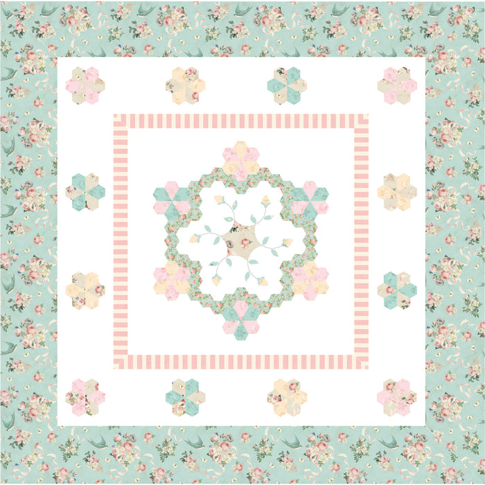 Summer Love Fabric Quilt Kit