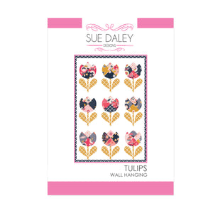 Tulips Wall Hanging Fabric Kit