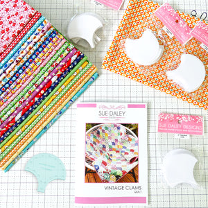 Vintage Clams Quilt Fabric Kit